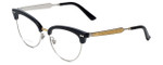 Gucci Designer Eyeglasses GG4284-CSA in Black 52mm :: Custom Left & Right Lens