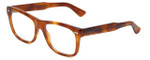 Gucci Designer Eyeglasses GG1135-056 in Light Havana 54mm :: Progressive