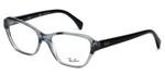 Ray-Ban Designer Eyeglasses RB5341-5571 in Black-Fade 53mm :: Rx Single Vision