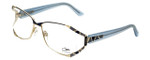 Cazal Designer Eyeglasses 1098-002 in Gold-Blue 55mm :: Custom Left & Right Lens