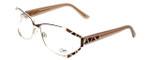 Cazal Designer Eyeglasses 1098-004 in Gold-Brown 55mm :: Progressive
