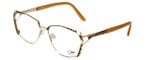 Cazal Designer Eyeglasses 1099-003 in Gold-Leopard Print 56mm :: Progressive