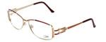 Cazal Designer Eyeglasses 1084-001 in Gold-Red 56mm :: Rx Bi-Focal