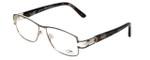 Cazal Designer Eyeglasses 1087-003 in Silver-Gunmetal 54mm :: Rx Bi-Focal