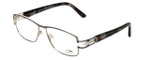 Cazal Designer Reading Glasses 1087-003 in Silver-Gunmetal 54mm