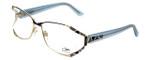Cazal Designer Reading Glasses 1098-002 in Gold-Blue 55mm