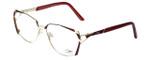 Cazal Designer Reading Glasses 1099-001 in Gold-Red 56mm