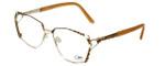 Cazal Designer Reading Glasses 1099-003 in Gold-Leopard Print 56mm