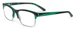 Oakley Designer Eyeglasses Allegation OX1090-0552 in Green Tortoise 52mm :: Rx Bi-Focal