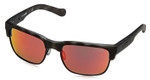 Arnette Designer Reading Glasses Dean AN4205-23326Q in Matte-Black Havana & Red Mirror