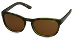 Arnette Designer Reading Glasses Pleasantville AN4219-232473 in Green-Havana & Polarized Brown