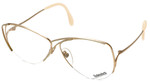 Rodenstock Designer Reading Glasses 828 in Gold 59mm