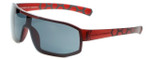 Porsche Designer Sunglasses P8527-B in Red with Grey Lens