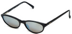 REVO Designer Reading Glasses 1119-062 in Black with Silver Mirror Lens