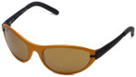 REVO Designer Reading Glasses 1804-063 in Bronze and Black with Brown Lens