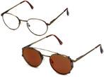 Revo 1602-010 Clip-On Reading Sunglasses
