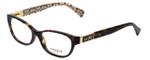 Coach Designer Eyeglasses Emma HC6061-5262 in Dark Tortoise 50mm :: Custom Left & Right Lens
