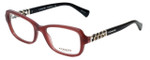 Coach Designer Eyeglasses HC6075Q-5321 in Black Cherry 52mm :: Custom Left & Right Lens