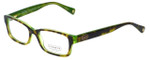 Coach Designer Eyeglasses Brooklyn HC6040-5117 in Tortoise Green 52mm :: Rx Single Vision