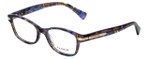 Coach Designer Eyeglasses HC6065-5288 in Confetti Purple 49mm :: Progressive