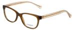 Coach Designer Eyeglasses HC6072-5328 in Brown Glitter 50mm :: Progressive