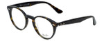 Ray-Ban Designer Eyeglasses RB2180V-2012 in Havana 47mm :: Custom Left & Right Lens