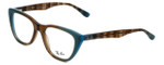 Ray-Ban Designer Eyeglasses RB5322-5490 in Azure-Blue-Brown 51mm :: Custom Left & Right Lens