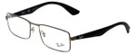 Ray-Ban Designer Eyeglasses RB6332-2620 in Gunmetal 55mm :: Custom Left & Right Lens