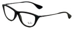 Ray-Ban Designer Eyeglasses RB7042-5364 in Rubber-Black 54mm :: Custom Left & Right Lens
