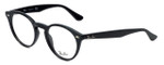 Ray-Ban Designer Eyeglasses RB2180V-2000 in Black 47mm :: Rx Single Vision
