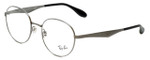 Ray-Ban Designer Eyeglasses RB6343-2553 in Silver 50mm :: Rx Single Vision