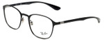 Ray-Ban Designer Eyeglasses RB6357-2509 in Black 51mm :: Rx Single Vision
