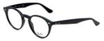 Ray-Ban Designer Eyeglasses RB2180V-2000 in Black 47mm :: Progressive