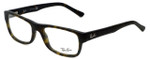 Ray-Ban Designer Eyeglasses RB5268-5211 in Matte-Havana 50mm :: Progressive