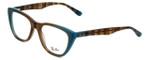 Ray-Ban Designer Eyeglasses RB5322-5490 in Azure-Blue-Brown 51mm :: Progressive