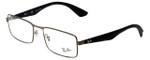 Ray-Ban Designer Eyeglasses RB6332-2620 in Gunmetal 55mm :: Progressive