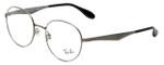Ray-Ban Designer Eyeglasses RB6343-2553 in Silver 50mm :: Progressive