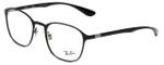 Ray-Ban Designer Eyeglasses RB6357-2509 in Black 51mm :: Progressive