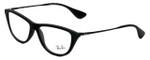 Ray-Ban Designer Eyeglasses RB7042-5364 in Rubber-Black 54mm :: Progressive