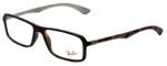 Ray-Ban Designer Eyeglasses RB8902-5479 in Matte-Havana 54mm :: Progressive