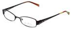 Vera Bradley Designer Eyeglasses Natalie MMB in Dark-Purple 51mm :: Custom Left & Right Lens