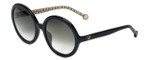 Carolina Herrera Designer Sunglasses SHE696-0700 in Black Grey Gradient Lens