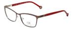 Carolina Herrera Designer Eyeglasses VHE083K-0482 in Brown 54mm :: Rx Single Vision