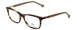 Carolina Herrera Designer Eyeglasses VHE673K-06HN in Light-Havana 53mm :: Rx Single Vision
