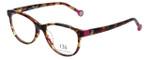 Carolina Herrera Designer Eyeglasses VHE678K-01GQ in Havana-Lilac 52mm :: Rx Single Vision