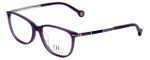 Carolina Herrera Designer Eyeglasses VHE670K-0903 in Purple 53mm :: Progressive