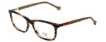 Carolina Herrera Designer Eyeglasses VHE673K-06HN in Light-Havana 53mm :: Progressive
