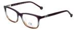 Carolina Herrera Designer Eyeglasses VHE673K-0D78 in Purple-Fade 53mm :: Progressive