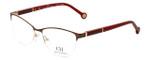 Carolina Herrera Designer Eyeglasses VHE079K-0SB1 in Brown 53mm :: Progressive