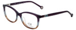 Carolina Herrera Designer Reading Glasses VHE674K-0D78 in Purple-Fade 53mm